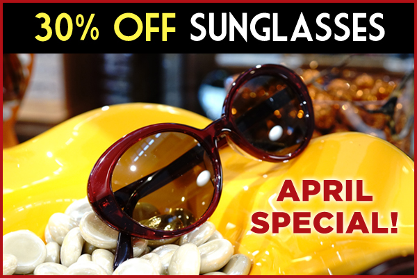 Sunny April Savings!